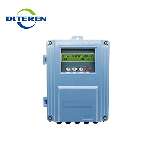 Quantity assured no moving parts wall mount portable ultrasonic flow meter price