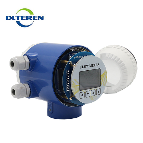 Excellent quality no pressure loss electromagnetic flow meter measuring instruments