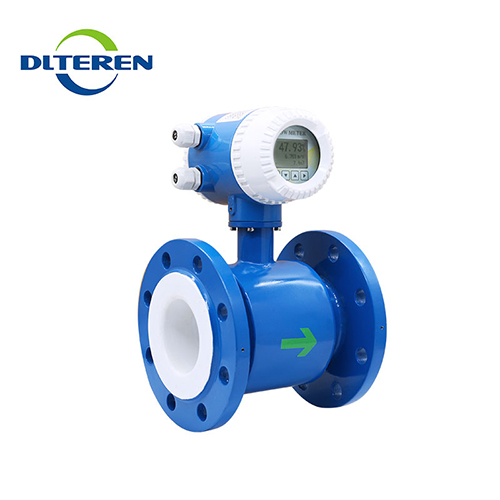 High performance no pressure loss electromagnetic flow meter measuring instruments china